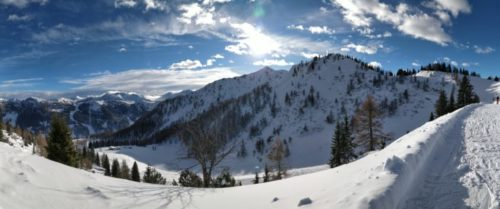OnePlus 5T mountain panorama