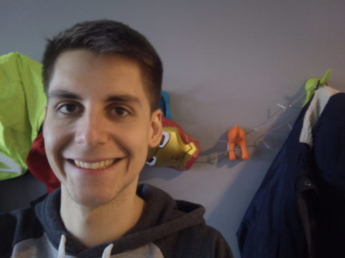 Teclast Master T8 Tablet Front Camera Selfie