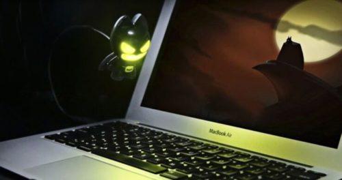 USB lights batman