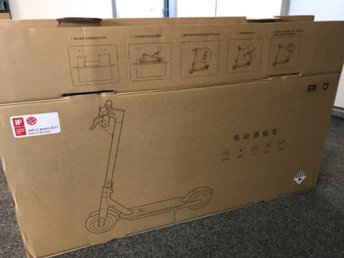 Xiaomi M365 Electric Scooter Package