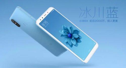 Xiaomi Mi 6X Blue