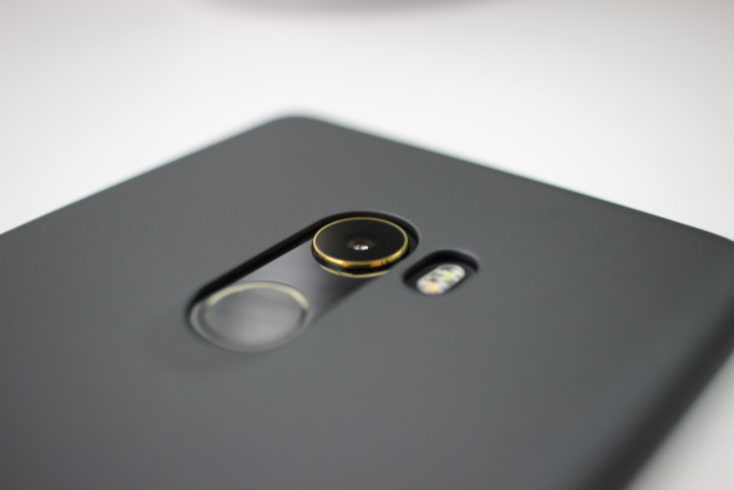 Xiaomi Mi Mix 2 Camera Gold Ring