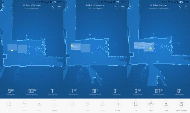 Xiaomi Mi Robot Vacuum Robot Room Layout App