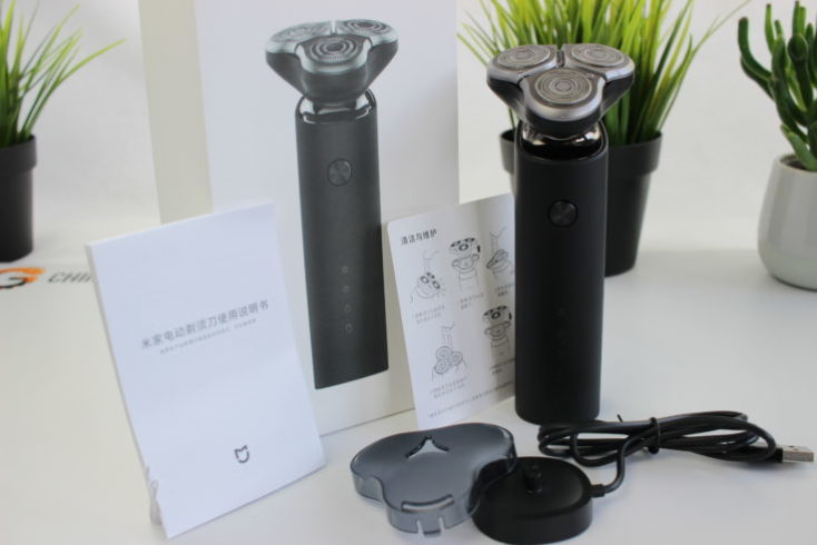 Xiaomi Mijia shaver scope of delivery