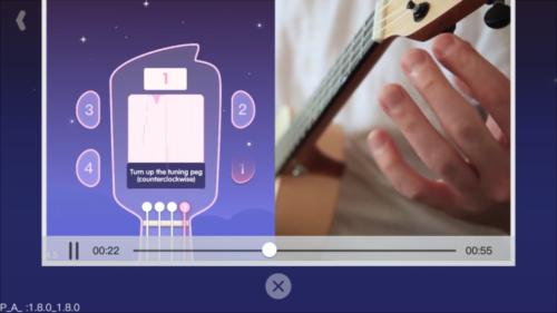Xiaomi Populele Ukulele App Voices