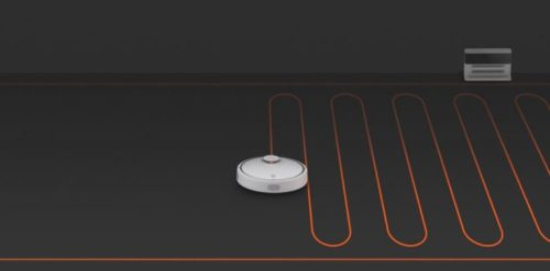 Xiaomi vacuum cleaner robot suction modes