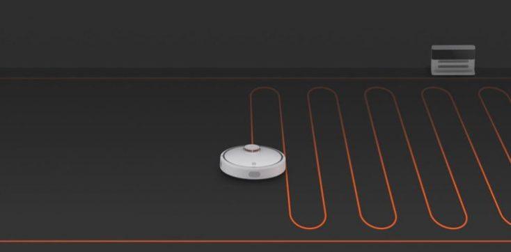Xiaomi vacuum cleaner robot suction modes