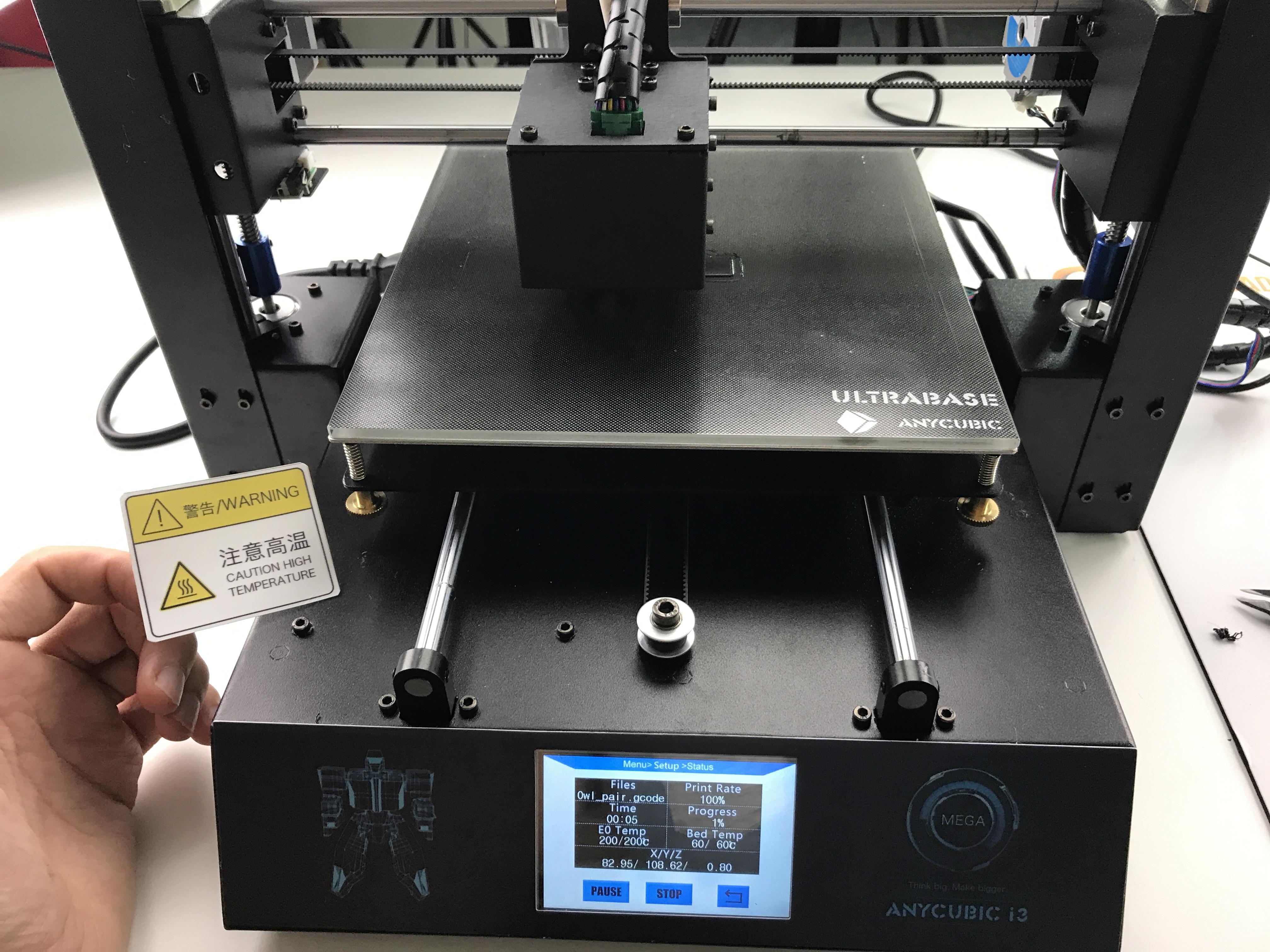 Anycubic I3 MEGA 3D Printer (Full Metal Frame, 2x Z-Axis