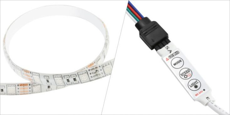 1 meter LED-Strips Switch