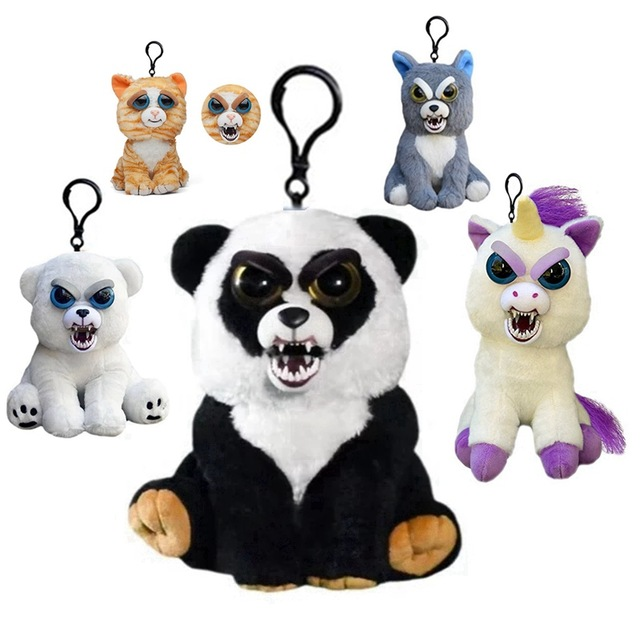 Cuddly toys with surprise effect Feisty pendant