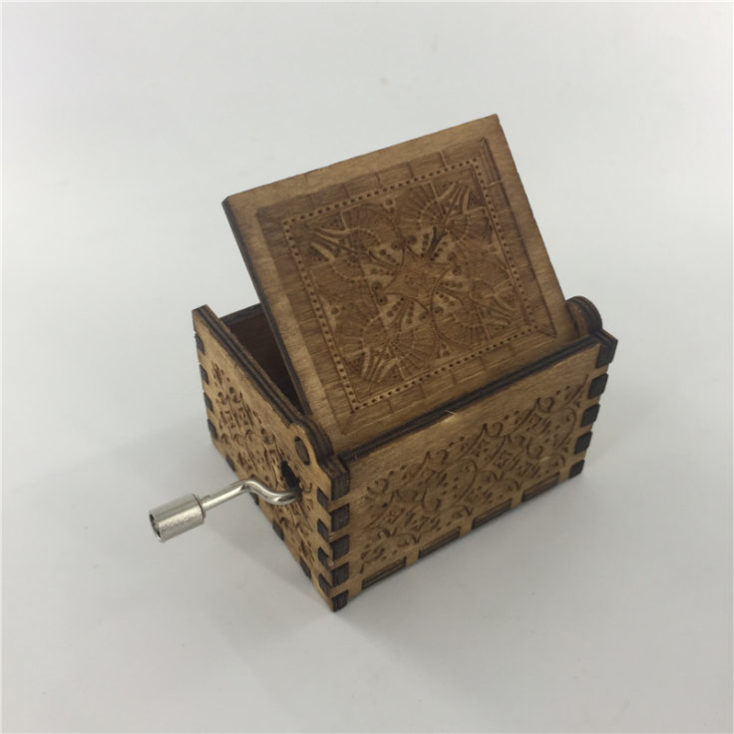 Harry Potter music box back side