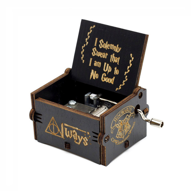 Harry Potter music box black