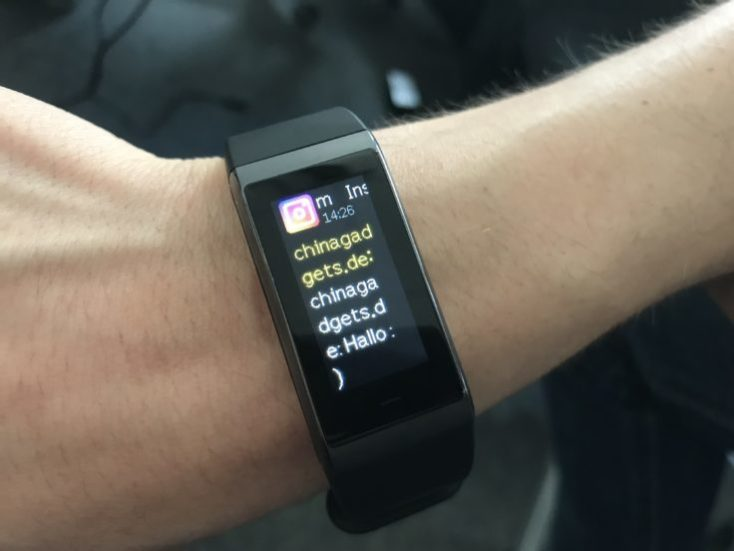 Huami Amazfit Cor Midong Notifications