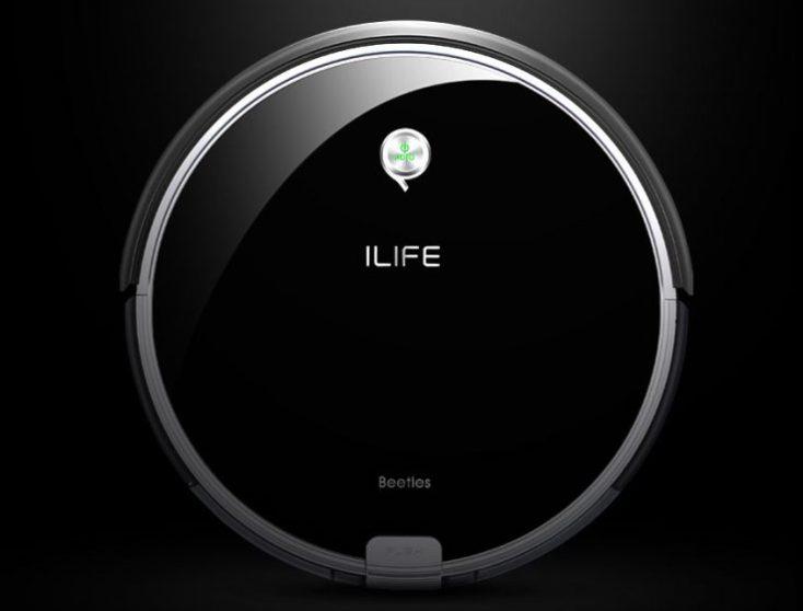 ILIFE A6 Vacuum Robot Design