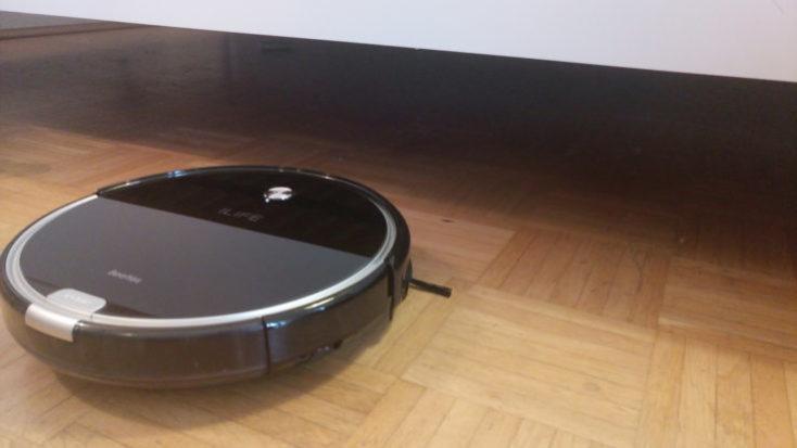 ILIFE A6 Vacuum Robot Dimensions