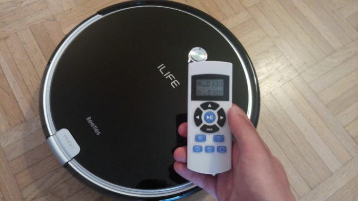 ILIFE A6 Vacuum Robot Remote Control Timer