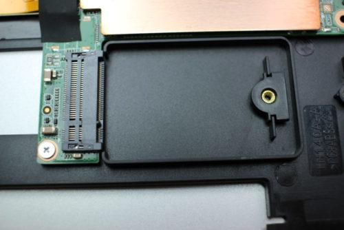 M.2 Sata slot Teclast F7 Notebook
