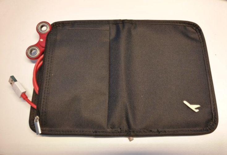 Passport Organizer Bag seams