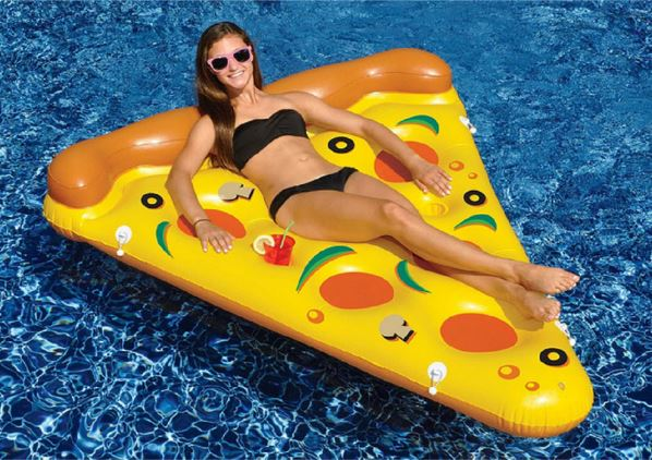 Pizza Air mattress