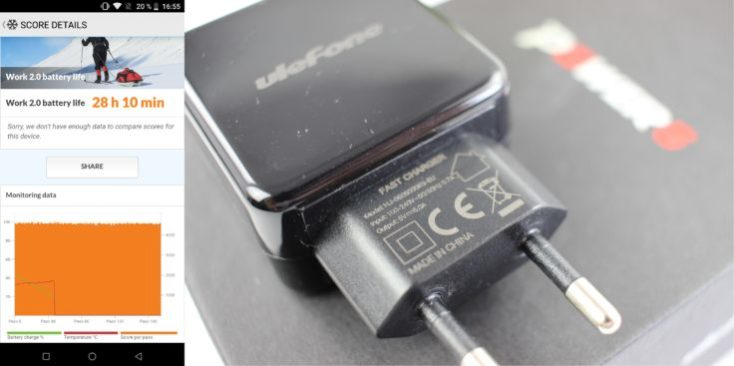 UleFone Power 5 Battery & Charger