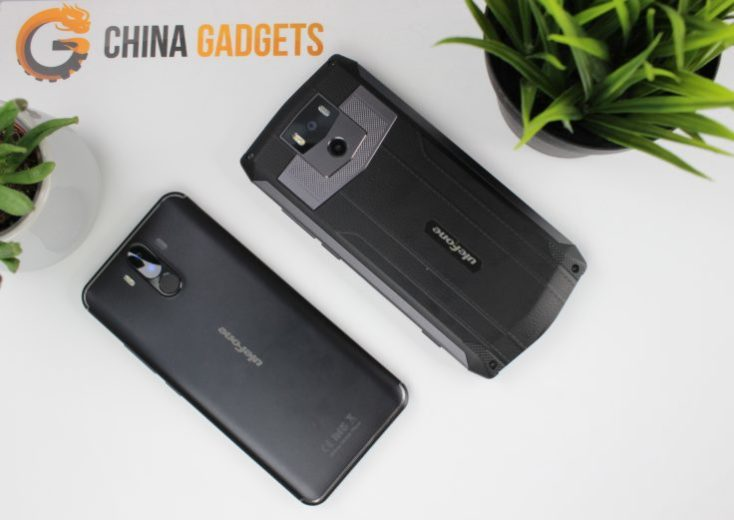 UleFone Power 5 Power 3 Design