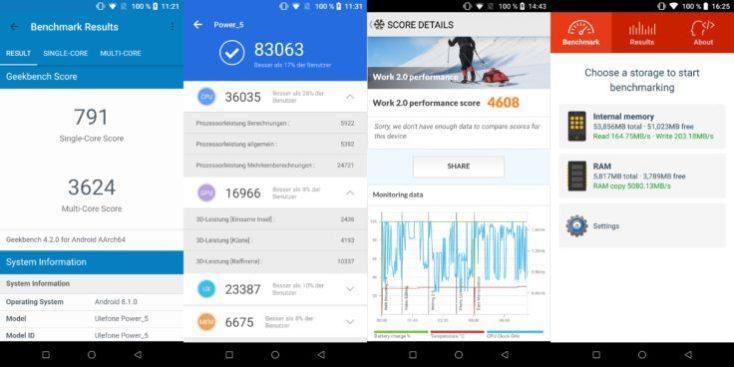 UleFone Power 5 benchmarks