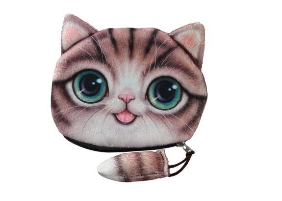 Wallet Cat Design