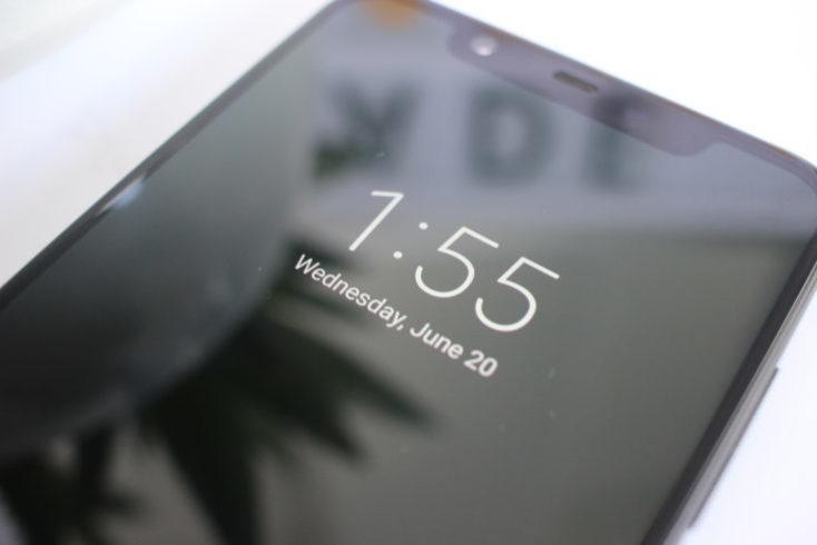 Xiaomi Mi 8 Always On Display