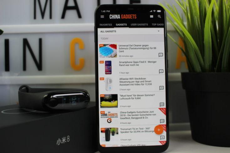 Xiaomi Mi 8 CG App