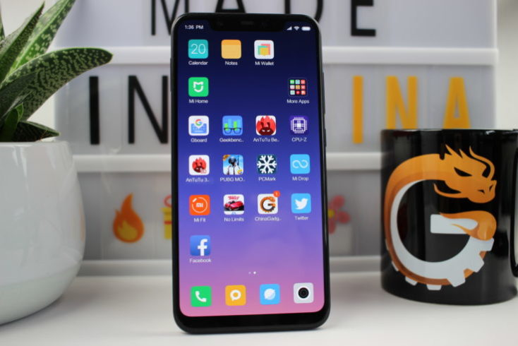 Xiaomi Mi 8 smartphone