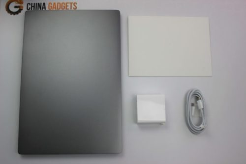 Xiaomi Mi Notebook Air Scope of Delivery