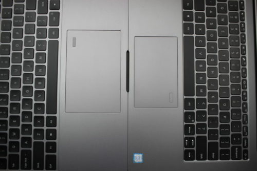 Xiaomi Mi Notebook Air Touchpad compared to Xiaomi Mi Notebook Pro