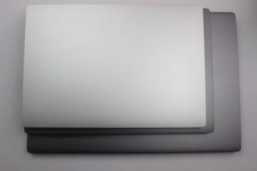 Xiaomi Mi Notebook Air all sizes in comparison