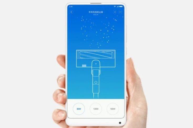 Xiaomi Roidmi F8 battery vacuum cleaner App