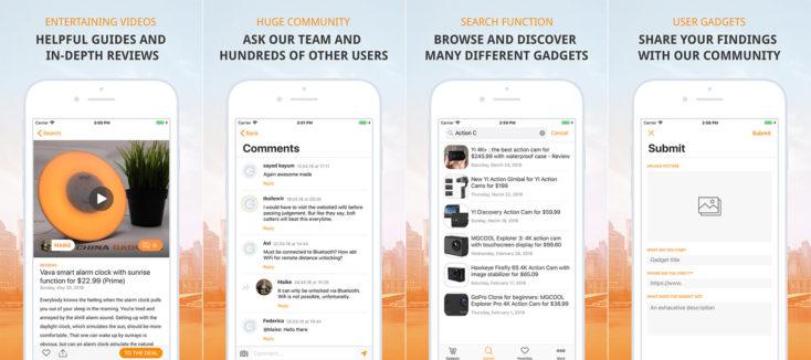 china-gadgets.com iOS App Screenshots