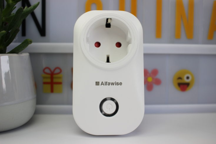 Alfawise Smart WiFi Plug white