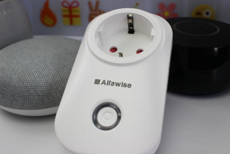 Alfawise smart socket with google Home and Amazon Alexa