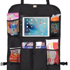 Car seat protection and organizer