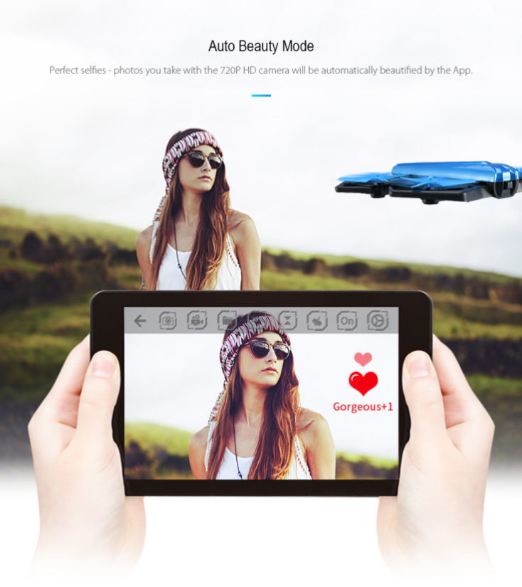 JJRC H43WH Selfie Beauty Fashion