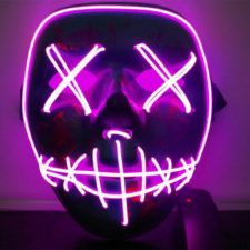 LED Light Mask Purple