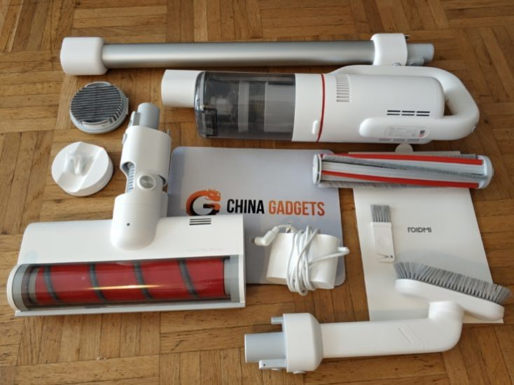 Roidmi F8 battery vacuum cleaner Scope of delivery
