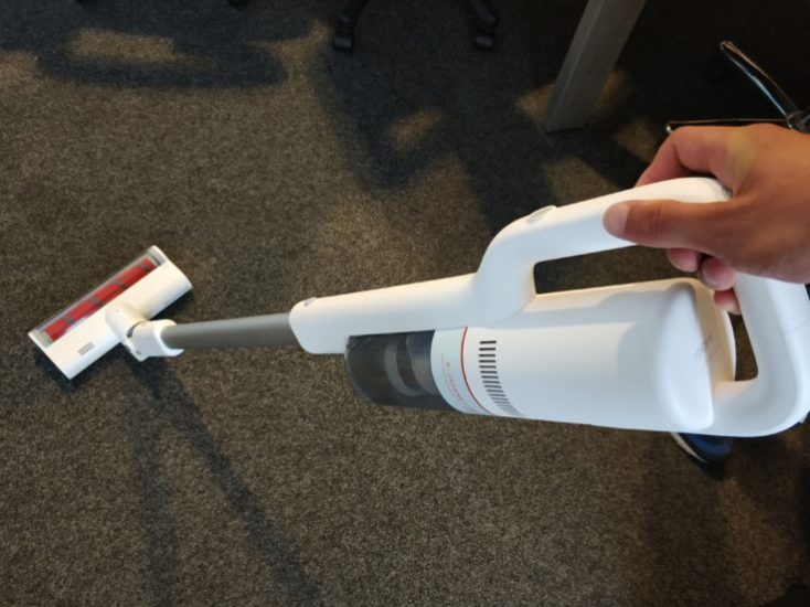 Roidmi F8 battery vacuum cleaner design