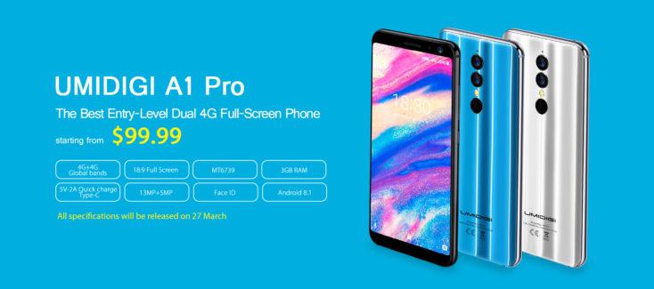 UMIDIGI A1 Pro Smartphone Specs