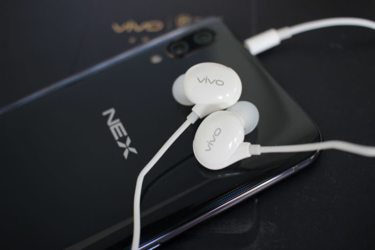 Vivo NEX Ultimate Headphones