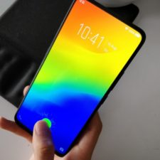 Vivo NEX Ultimate fingerprint sensor