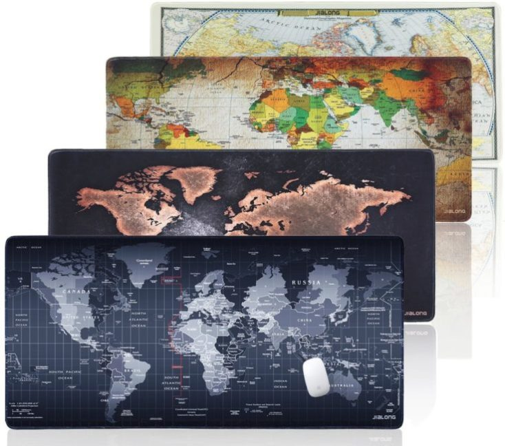XXL Mousepad World Map
