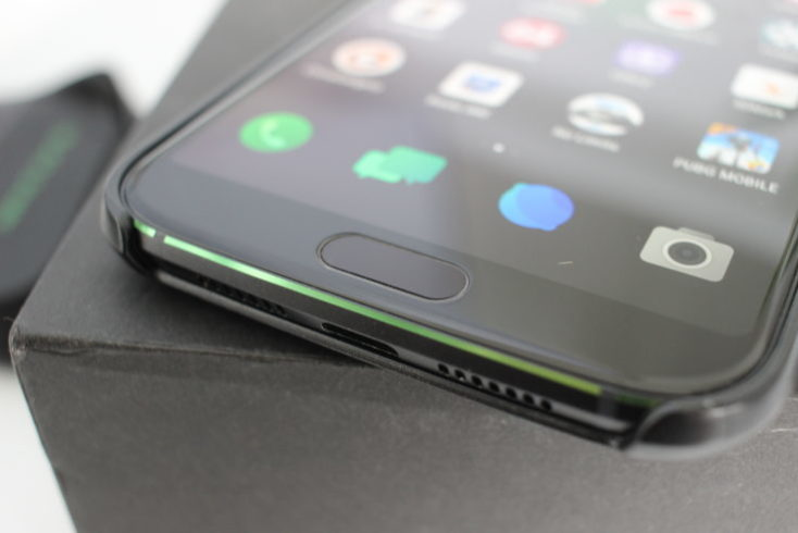 Xiaomi Black Shark fingerprint sensor