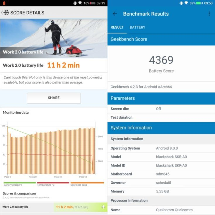 Xiaomi Blackshark Battery