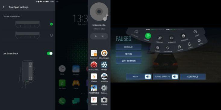 Xiaomi Blackshark Smart Software