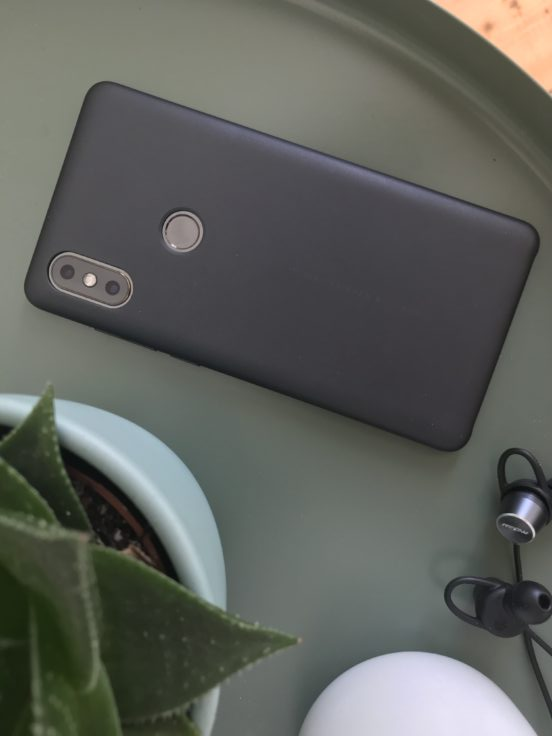 Xiaomi Mi Mix 2S backside